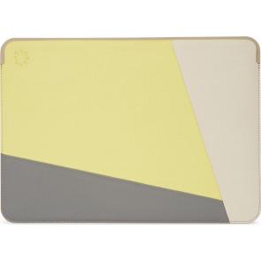 """Decoded Nike Grind Frame Sleeve Leder, 13"""" MacBook Pro/Air, Lime"""