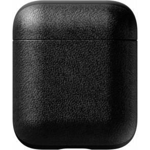 Nomad Leder Case für Apple AirPods, schwarz