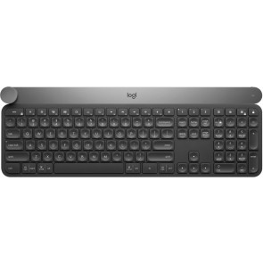 Logitech Craft Advanced Keyboard mit Drehregler, Bluetooth