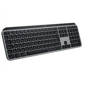 Logitech MX Keys für Mac, beleuchtete Wireless Tastatur CH, spacegrau