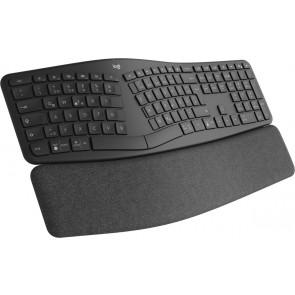 Logitech Keyboard ERGO K860, CH, spacegrau
