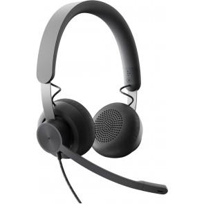 DEMO: Logitech Headset Zone Wired MS