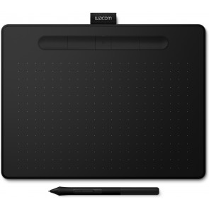 Wacom Intuos M Bluetooth Grafiktablett, schwarz