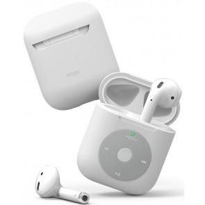 "elago ""iPod"" Silikon Case für Apple AirPods, weiss"