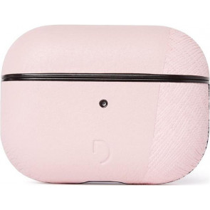 Dual Leder Case für Apple AirPods Pro, rosa, Decoded