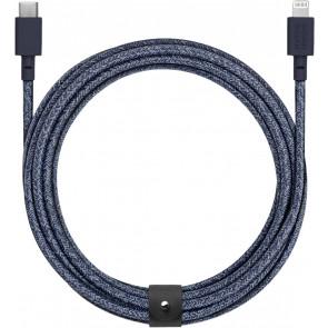Belt Lightning auf USB-C-Kabel 3m, indigo, Native Union