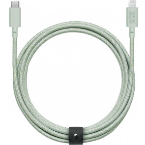 Belt Lightning auf USB-C-Kabel 3m, sage, Native Union