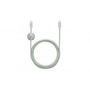 Belt Desk USB-C auf USB-C-Kabel 2.4m, Grün, Native Union
