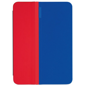Logitech AnyAngle Folio für iPad mini 3/2/1, blau - rot
