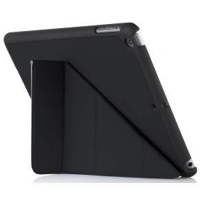 Origami Case, iPad (2017/2018), schwarz, Pipetto