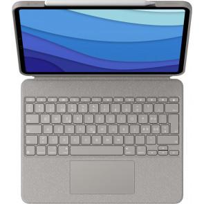 """Combo Touch, Keyboard Case für 12.9"""" iPad Pro (2021), CH-Tastatur, Sand, Logitech"""
