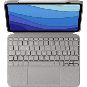 """Combo Touch, Keyboard Case für 11"""" iPad Pro, CH-Tastatur, Sand, Logitech"""