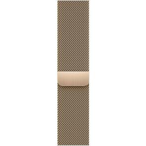 Milanaise Armband Edelstahl für Apple Watch 42/44/45 mm, gold
