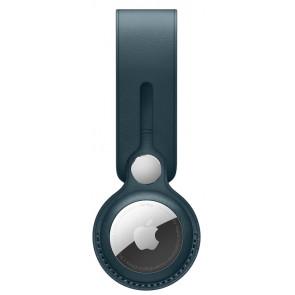 Apple Anhänger aus Leder für AirTag, Baltischblau