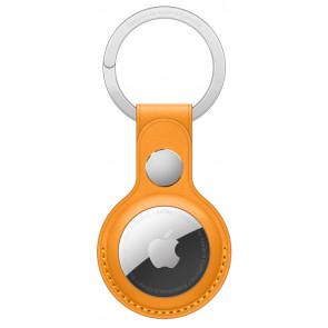 Apple Schlüsselanhänger Leder für AirTag, California Poppy