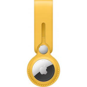 Apple Anhänger aus Leder für AirTag, Meyer Lemon