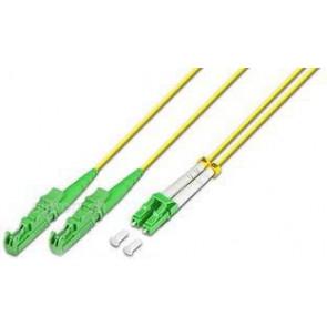 LWL Duplex Patchkabel, 2m, E2000 - LC 9/125 µm, OS1/OS2, Lightwin