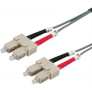 Roline LWL Duplex Patchkabel, 1m, SC - SC, 50/125µm OM2