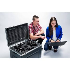 """atecase Transportbehälter für 32 iPad 10.2"""" für Hülle bis 200x25x260mm"""