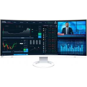 """EIZO EV3895 Swiss Edition, 37.5"""" 4K QHD+ Ultra Wide 4K Monitor, 85 Watt USB-C (Thunderbolt3), weiss"""