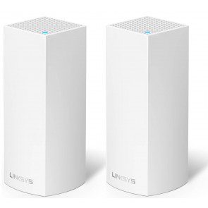 Linksys Velop WLAN Access-Point AC4400 2er-Set