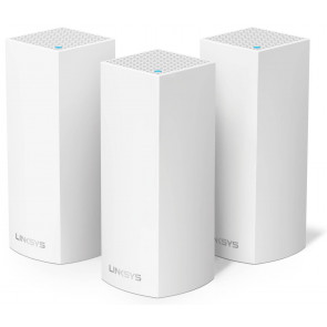 Linksys Velop WLAN Access-Point AC6600 3er-Set, Weiss