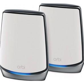 Netgear Orbi Mesh-WLAN RBK852, WiFi 6, 2er-Set