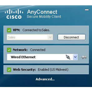 Cisco AnyConnect Plus Mietlizenz (25-99 Staffel), 5 Jahre