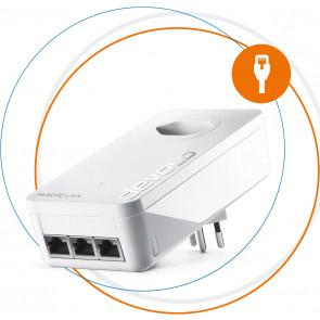 devolo, Magic 2 LAN triple Single, Powerline Adapter, weiss