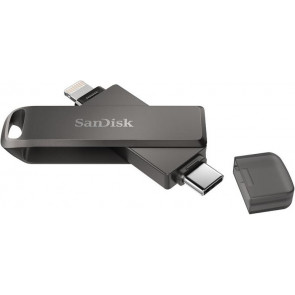 64GB Flash Drive, iXpand Luxe, USB-C, Lightning Stick, SanDisk