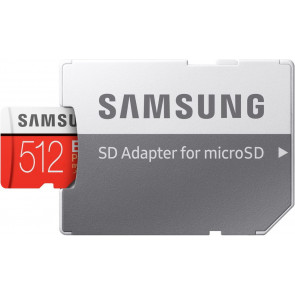Samsung EVO Plus 512GB microSDXC Card + Adapter, 100MB/s