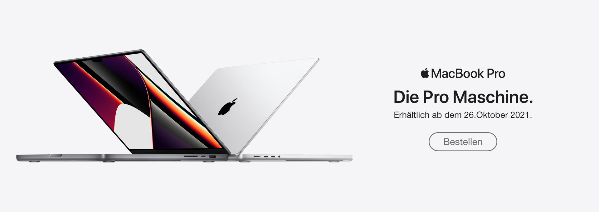 Slider Apple MacBook 14 und 16 Zoll