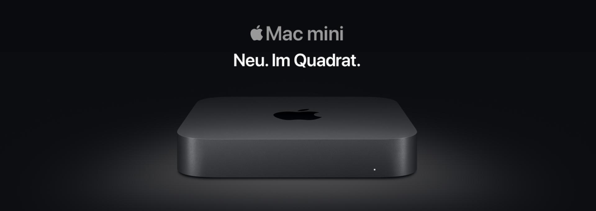 Link zu Mac mini im Shop