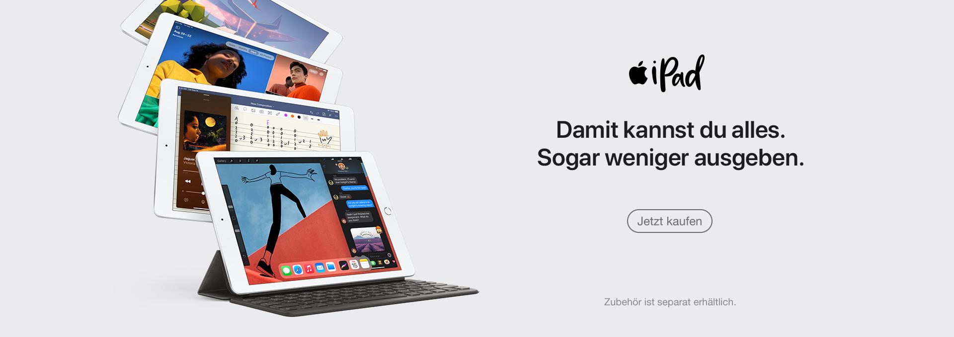 Jetzt Apple iPad 8 kaufen