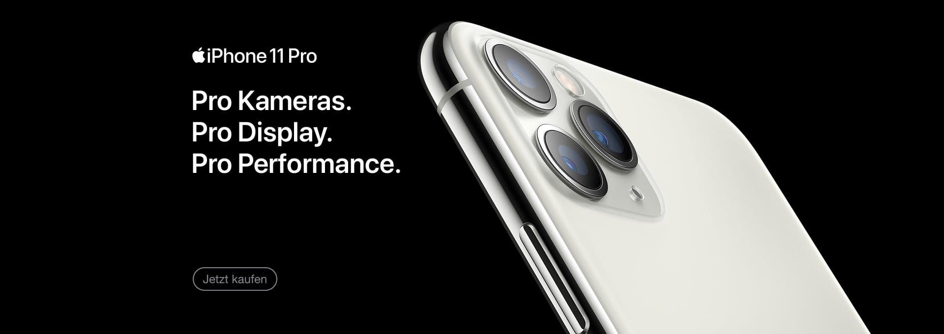 Jetzt Apple iPhone 11 Pro und Max kaufen