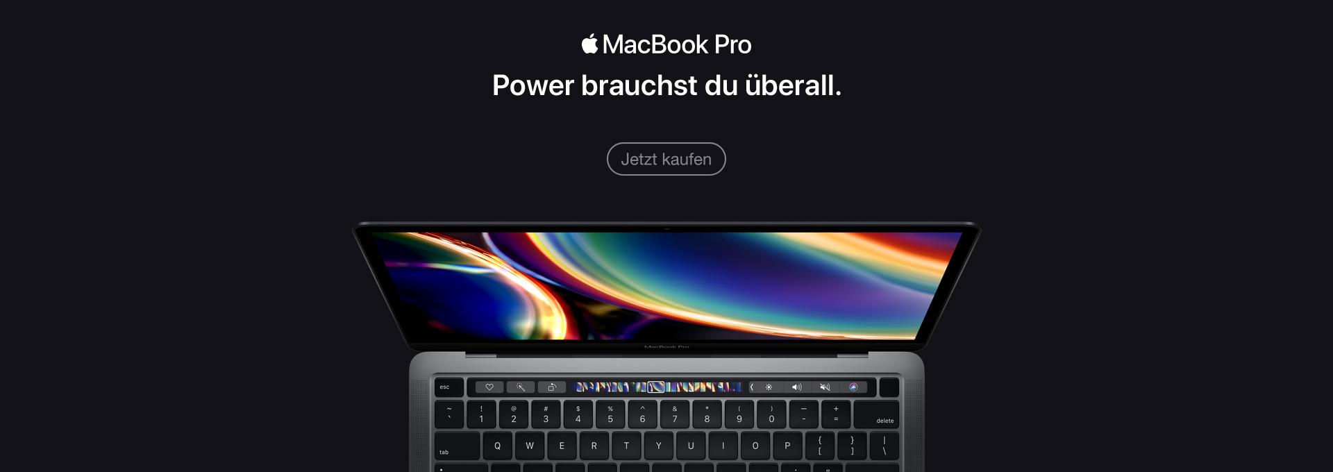 Jetzt Apple MacBook Pro 13 Zoll kaufen